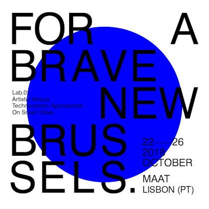 Plakat For a brave new brussels
